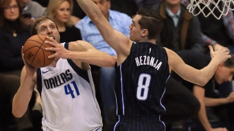 Mavericks Beat Magic, Stop 3-Game Slide