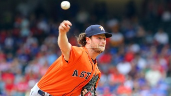 Cole Strikes Out 11 in Houston Debut as Astros Beat Rangers