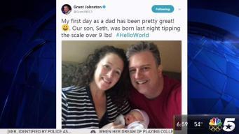 Grant's a Dad!