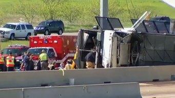 Passenger on the Bus Describes Crash