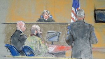 Hasan Rests, Says Nothing in Fort Hood Sentencing