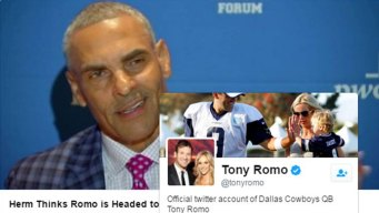 Tony Romo Likes Tweet About Heading to Houston