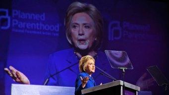 Trump Will Reverse Progress for Woman: Clinton
