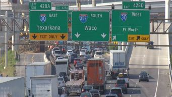 Major Weekend Traffic Changes in Dallas