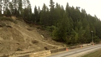 Idaho Mudslide Caught on Camera