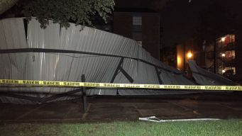 Irving Apartment Complex Suffers Storm, Wind Damage