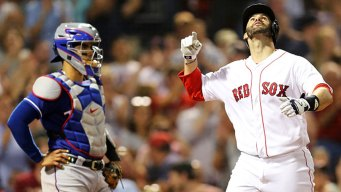 Martinez Leads Red Sox to Win Over Rangers