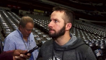 J.J. Barea Gives Update on His Calf Injury