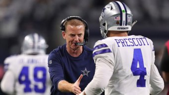 Garrett, Prescott Lead Cowboys to 3rd Playoff Win Since '96