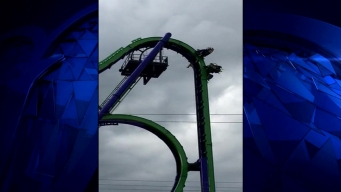New 'Joker' Coaster Stops Again, No Rescue Needed