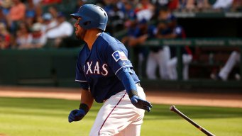 Beltre Triples as Rangers Beat Rockies to End 7-Game Skid