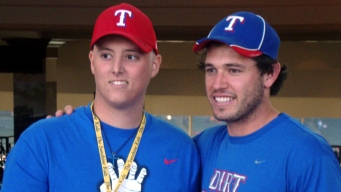 Cancer Patient Cheers on Rangers