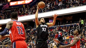 Towns, Wiggins Help T-wolves Turn Away Mavs Rally