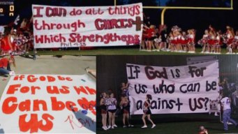TX Court Sides With Cheerleaders in Bible Banner Suit
