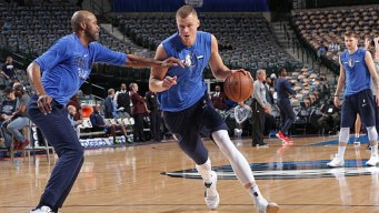 AP Source: Mavs to Sign Porzingis to 5-Year Contract
