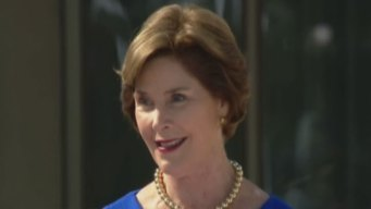 Laura Bush: Center Reflects His Time in Office