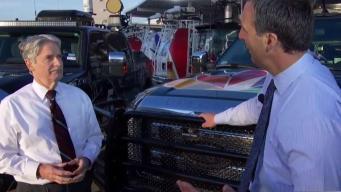 NBC 5 Introduces Texas Lightning Truck
