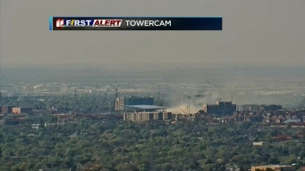 Fire at Texas Tech's Practice Facility Near Jones AT&T Stadium