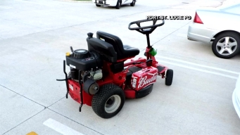 Man on Lawn Mower Arrested for DUI