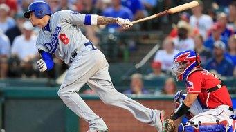 Machado 4 RBIs, Dozier HR for Dodgers in Win at Rangers