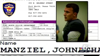 Agent Drops Manziel; Family Concerned for His Well-Being