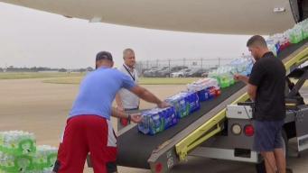 Mavs Plane Sends Relief to Puerto Rico