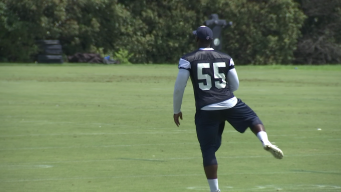 Jones Happy to See LB McClain at Valley Ranch