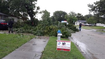 Storms Bring High Winds, Small Hail to North Texas