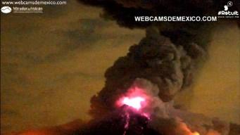 Mexico Volcano Erupts
