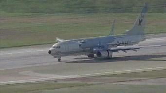 Military Aircraft Hide From Hurricane Matthew at NASJRB