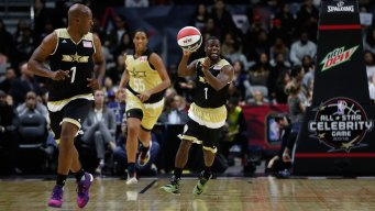 Canada Beats U.S. in All-Stars 74-63
