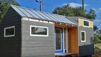 People Move into Tiny Houses for Earth Day