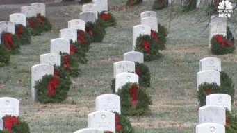 Wreaths Across America Honor Nation's Veterans