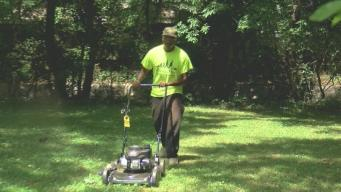 Man Mows Lawn for Veterans in 50 States
