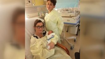 Boy Delivers Baby Brother