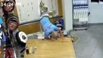 Burglar Loses Pants Breaking Into Dealership