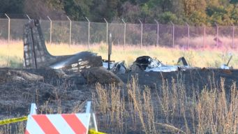 Fiery Plane Crash Leaves Four Dead
