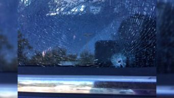Driver's Car Window Shot Out While Driving