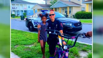 Kind-Hearted Cop Replaces Stolen Bike