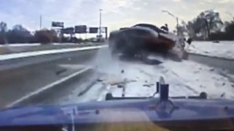 Terrifying Crash Caught on Camera