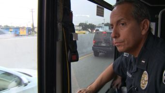 Police Bus Busts Distracted Drivers in Texas