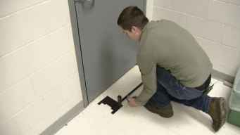 Student's Invention Protects Classrooms