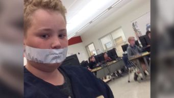 Students Silenced With Duct Tape: Officials