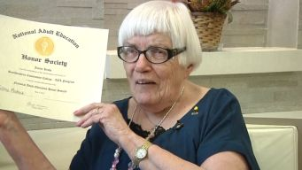 Woman Gets High School Diploma at Age 88