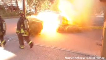 Manhole Blast Caught On Camera