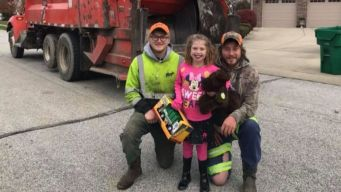 Sanitation Workers Deliver Special Birthday Surprise