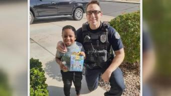 Officer Delivers Happy Meal After Boy Makes 911 Call