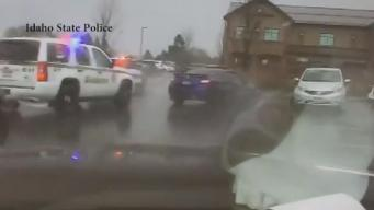 Wild Idaho Chase Ends in Crash