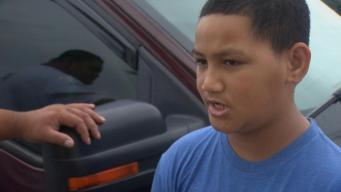 Boy Survives Lightning Strike