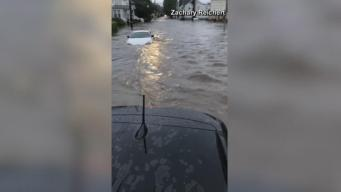 Flood Water Rescue Live-Streamed